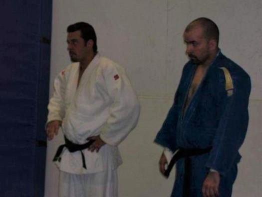 Senseis Chris and Kevin Costello